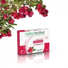 URISANOL 30 capsules cranberry NATURACTIVE