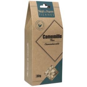 Organic roman chamomile NAT&FORM TISANES