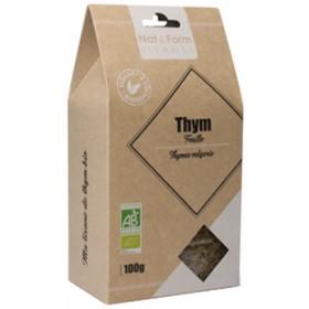 Thym bio NAT&FORM TISANES