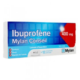 Ibuprofen 400mg tablets MYLAN
