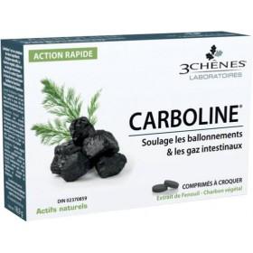 Carboline charbon végétal - 30 comprimés LES 3...
