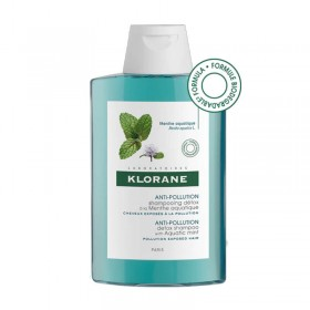 Shampooing with aquatic mint - anti-pollution...