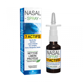 Nasal spray with 7 ntatural ingredients LES 3...