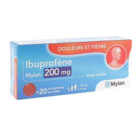 Ibuprofen 200mg tablets MYLAN