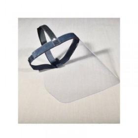 Plexiglass protective visor