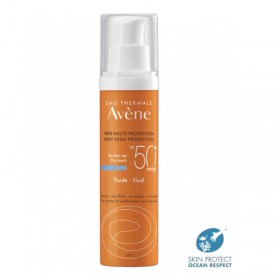 Fluid fragrance free spf 50+ AVENE