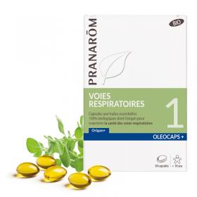 OLEOCAPS+ 1 voies respiratoires PRANARÔM