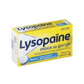 Lysopaïne comprimés à sucer – SANOFI