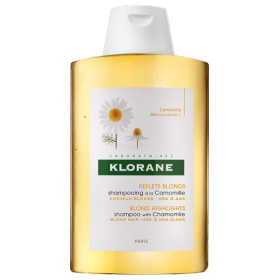 Shampoo with chamomile - blond hair -...
